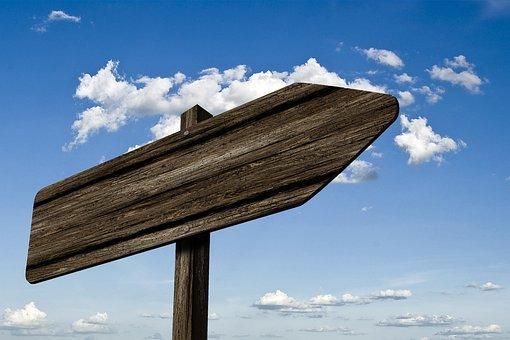 Directory, Signposts, Wood, Grain, Board, Shield