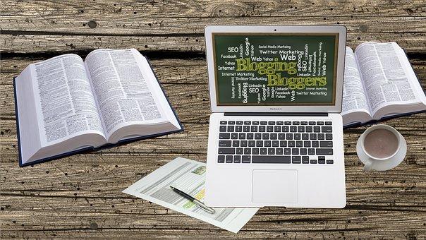 Blogging, Blog, Social Media, Home Office, Workstation