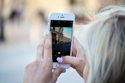 Instagram, Social Media, Girl, Woman, Smartphone