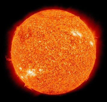 Sun, Fireball, Solar Flare, Sunlight, Eruption
