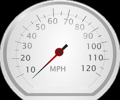 Speedometer, Tachometer, Gauge, Mph, Miles Per Hour