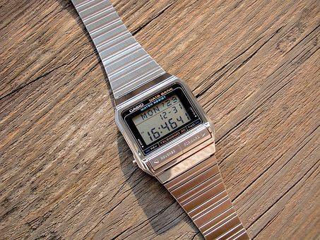 The Electronic Watch, Casio Watch, Liquid Crystal Watch