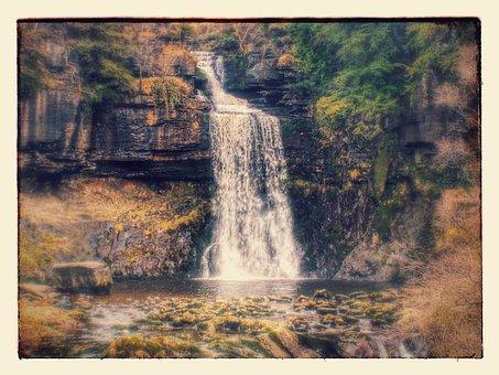 Waterfall, Thornton Force, Ingleton, Thornton