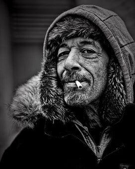 People, Homeless, Male, White, Person, Homeless Man