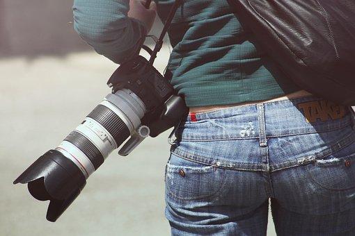 Woman, Photographer, Sexy, Butt, Behind, Bums, Bottom