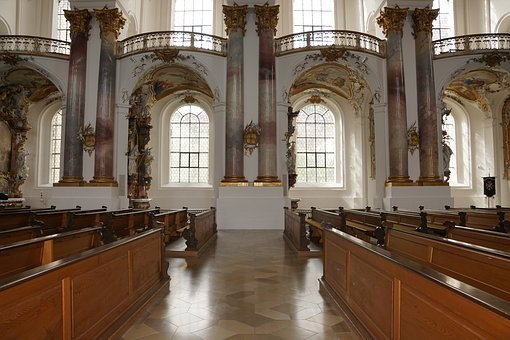 Church, Zwiefalten, Religion, Building, Baroque, Faith