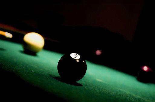 Ball, 8, Eight, Pool, Billiard, Table, Game, Sport