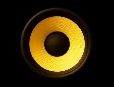 Speakers, Membrane, Audio, Sound, Bass