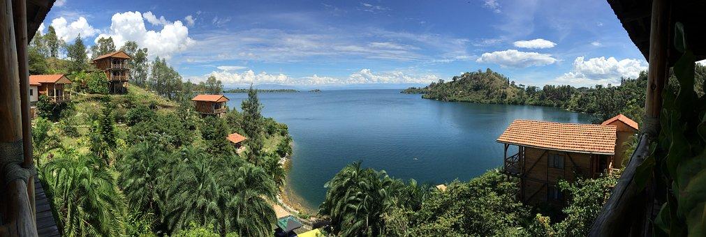 View, Tourism, Africa, Burundi, Panoramic, Nature, Lake