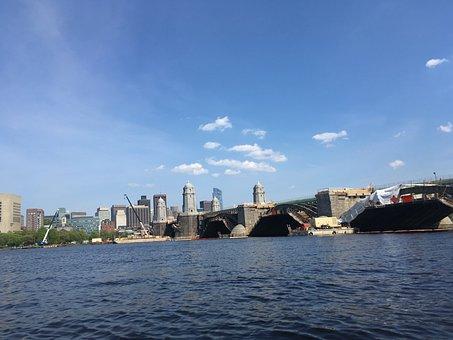 Kayaking, Boston, Downtown