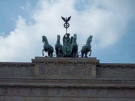 Deutschland, Germany, Berlin, Tor Brandenburguer