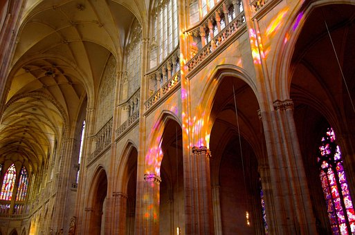 Cathedral, Interior, Church, Architecture, Beautiful