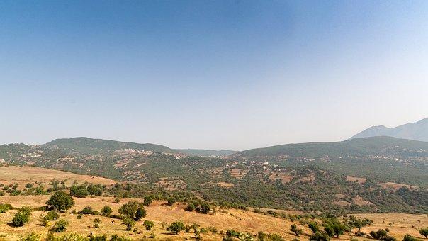 Landscape, Sky, Summer, Bejaia, Algeria, City