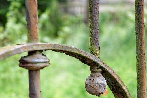 Fence, Abstract, Macro