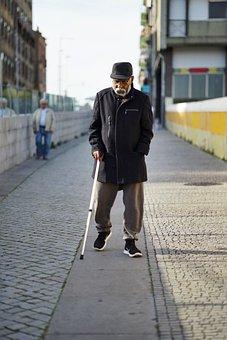 Old, Grandpa, Bridge, Old Man, Retirement, Face, Man