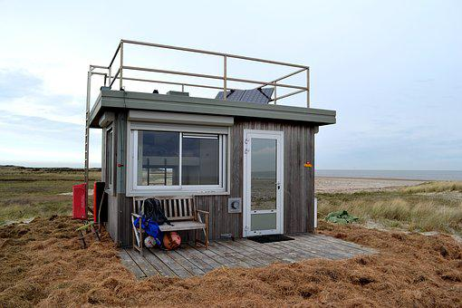 Beach House, Nature, Look-out, Observation Post