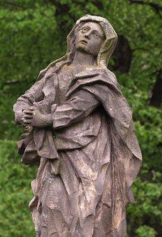 Pietà, Sculpture, Statue, Madonna, Christianity