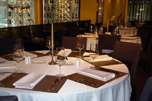 Restaurant, Table, Dinner, Dining, Decoration, Setting