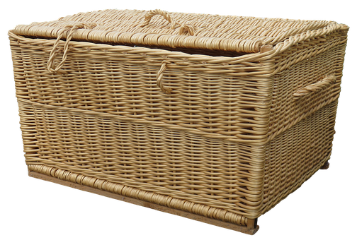 Laundry Basket, Wicker Basket, Basket Ware, Wicker
