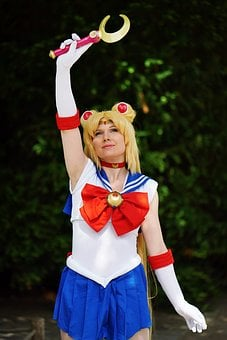Sailormoon, Manga, Woman, Pretty, Female, Romantic