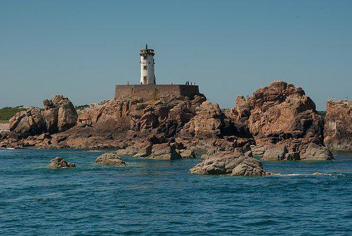 Brittany, Brehat Island, Lighthouse, Navigation, Tide
