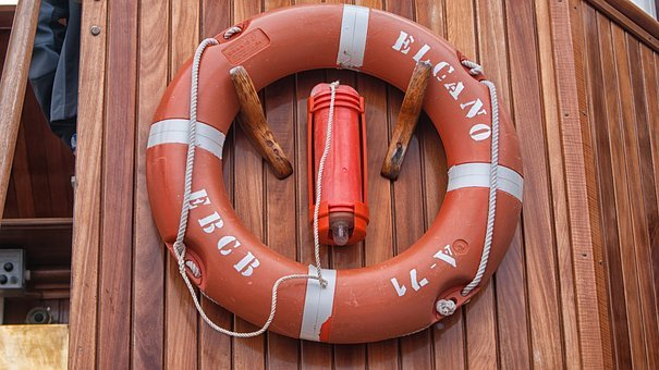 Buoy, Rescue, Ship, Water, Sailing Boat, Vessel