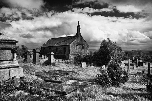 Church, Blackandwhite, Friarmere, Delph, Oldham