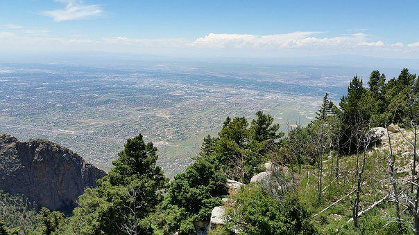 Sandia Mountains, Albuquerque, New Mexico, City