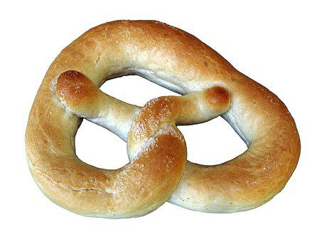Breze, Pretzel, Isolated, Salzbreze, Baked Goods