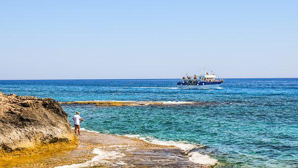 Summertime, Scenery, Boat, Fisherman, Leisure
