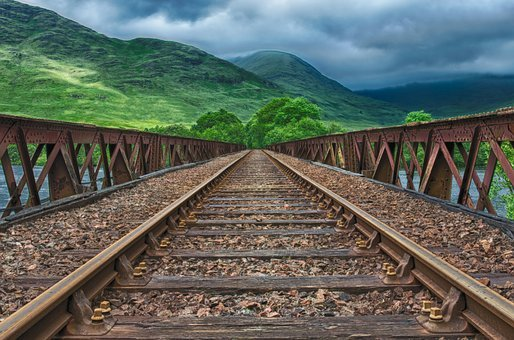 Railway, Seemed, Track, Train, Lost Places