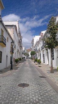 Street, Streets, People, Andalusia, Malaga, Monda