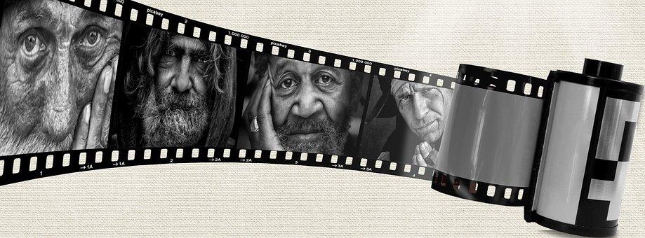 Photo Time Line, Negative, Film, Photo Film