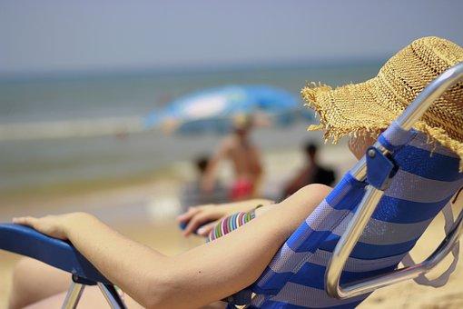 Relax, Rest, Holiday, Peaceful, Siesta, Summer, Beach