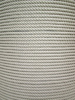 Rope, Rolled Up, Texture, Background, Twisted Ropes