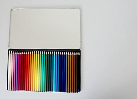 Pencils, Colour, School, Drawing, Colorful, Pencil