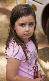 Girl, Serious, Beautiful