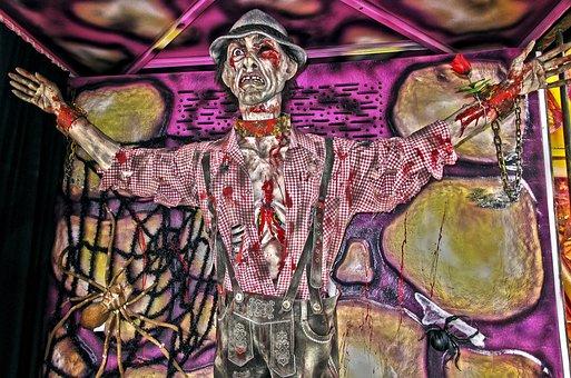 Ghost Train, Creepy, Figure, Folk Festival, Shudder