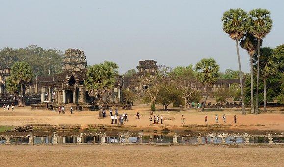 Angkor, Temple, Cambodia, Wat, Siem, Reap, Hindu