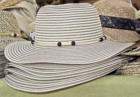Coneflower, Summer Hat, Hat, Sun Protection, Braid