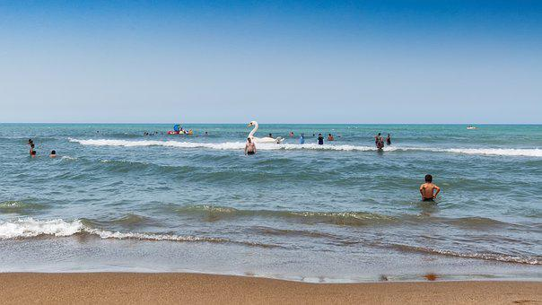 Tipaza, Beach, Summer, Algeria, Sea, Holiday, Beach Sea