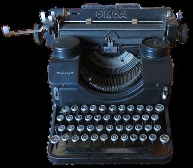 Typewriter, Historically, Old Typewriter
