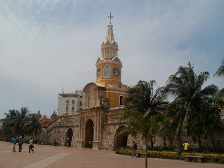 Cartagena, City, Sea, Crafts, Colombia, Walled City