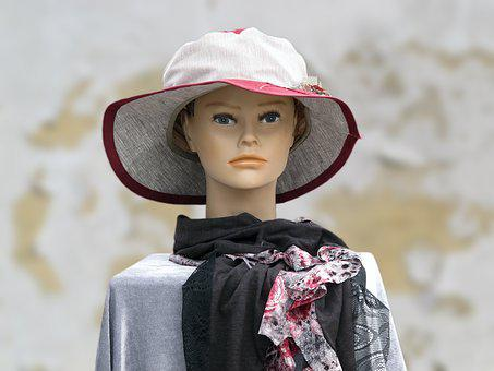 Mannequin, Wig Head, Fashion, Clothing, Decoration, Hat