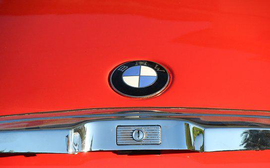 Bmw, 507, Trunk Lid, Two Seater Roadster, Logo