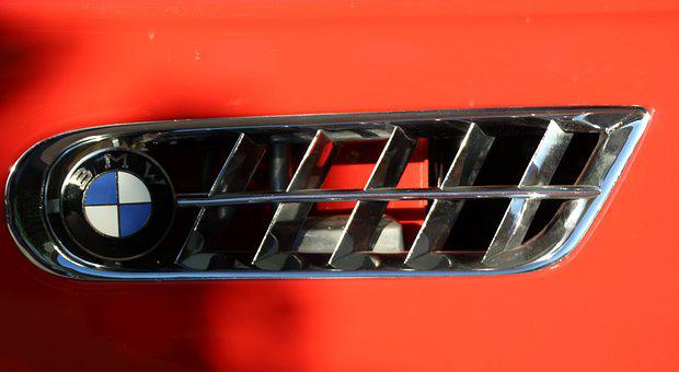Bmw, 507, Two Seater Roadster, Air Vents, Bmw Logo