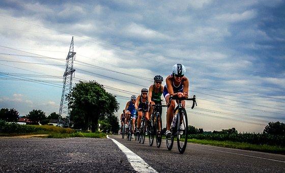 Triathlon, Road Bike, Bike, Triathlete, Cyclists