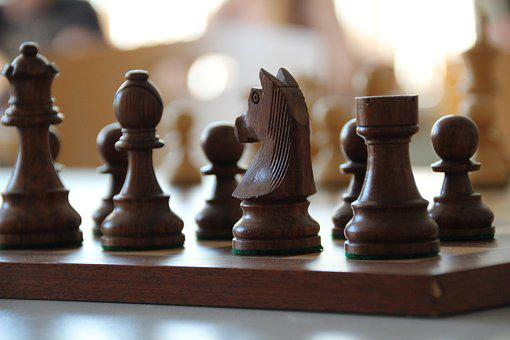 Chess, Chess Board, Horse, Chess Piece, Board Game