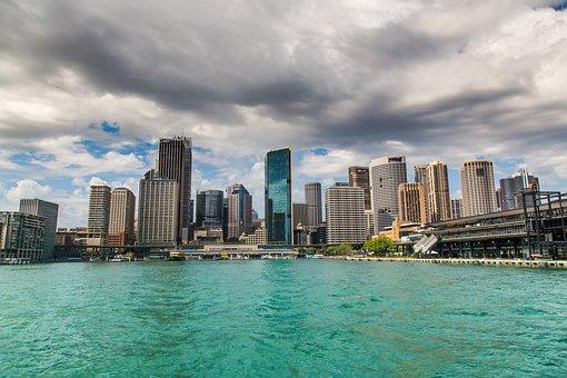 Sydney, City, Australia, Port