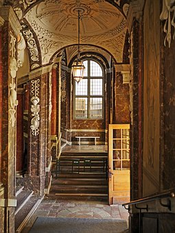 Drottningholm Palace, Input, Staircase, Stairs